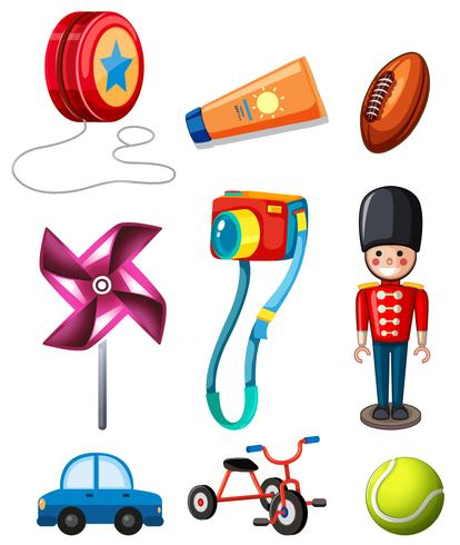 Set of children toy