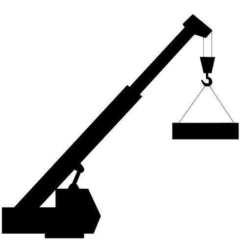 konstruktion kran vektor eps