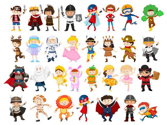 Conjunto de caracteres de rolagem