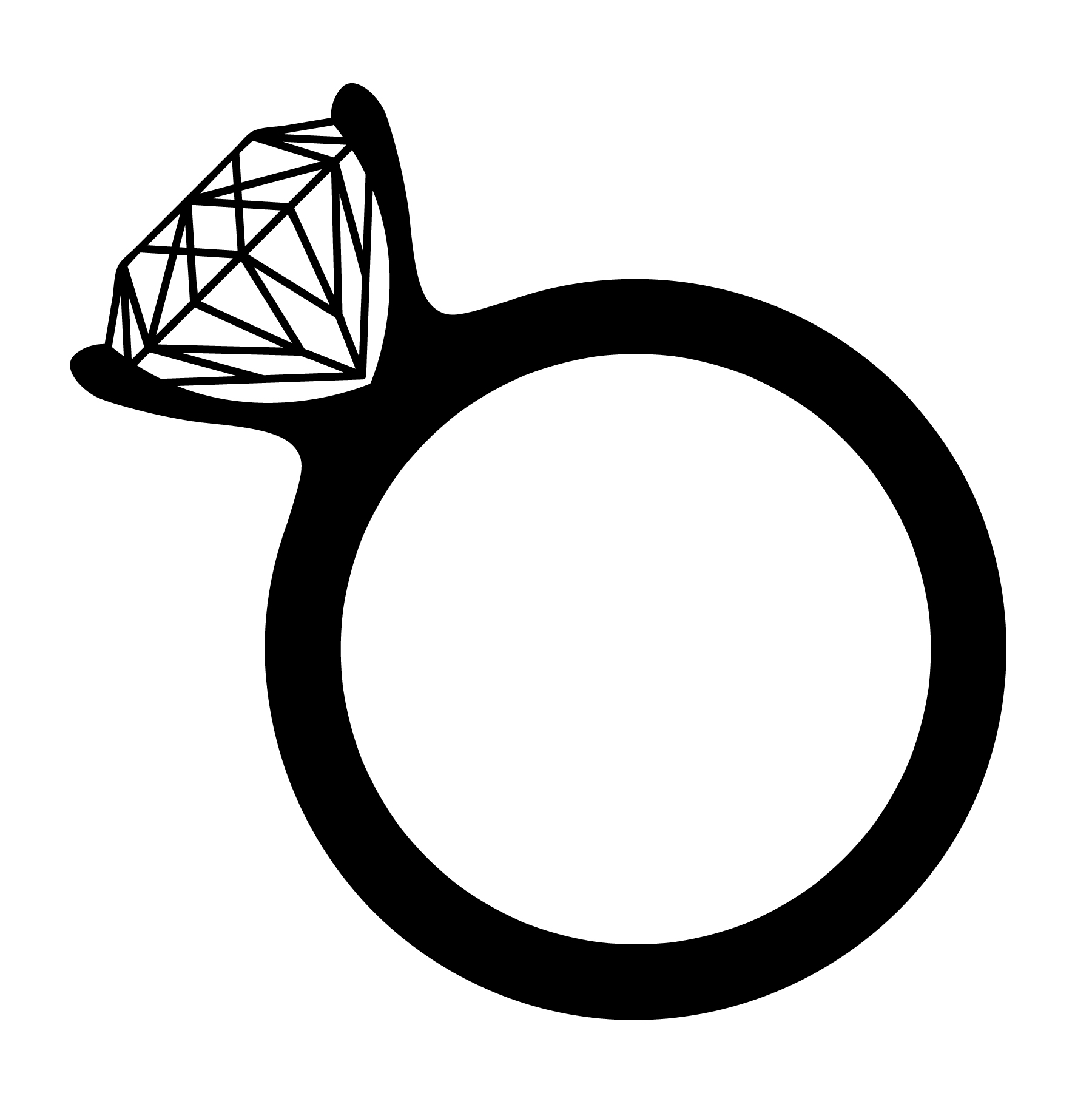 Engagement Ring Vector Download Free Vector Art Stock