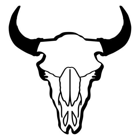 bisonte vettoriale eps