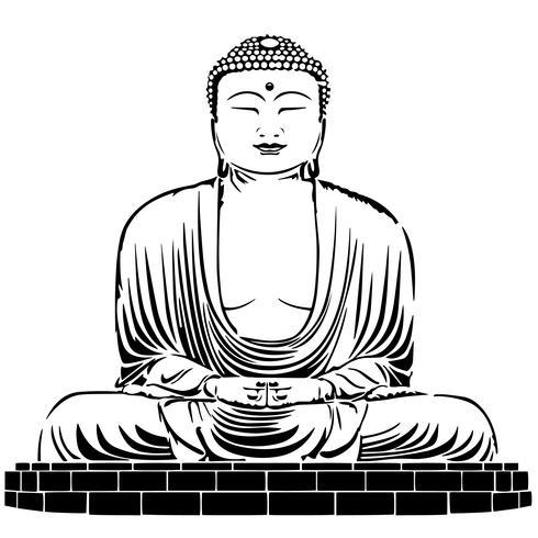 Boeddha vector eps