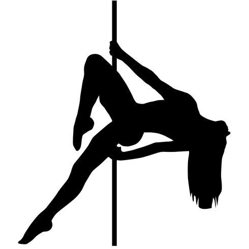 Pole Dance Vektor Eps