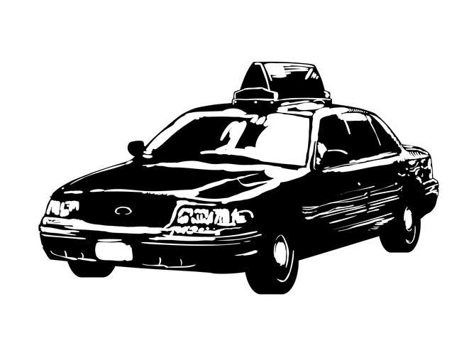 taxi taxi vector eps