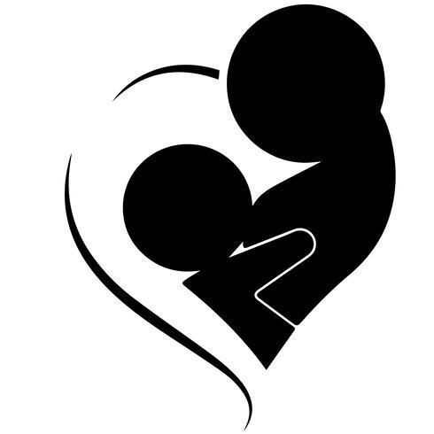 breastfeeding mother vector