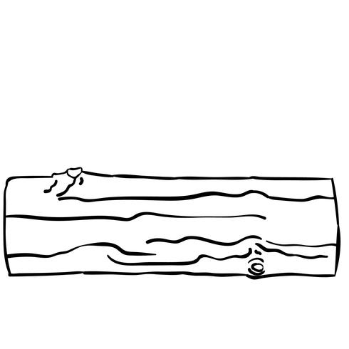 log de madeira