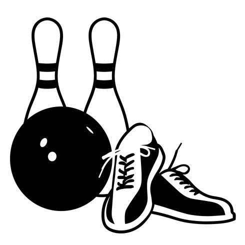 bowling vector eps