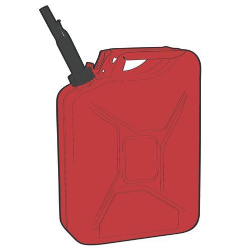 Benzin Gas Vektor Eps