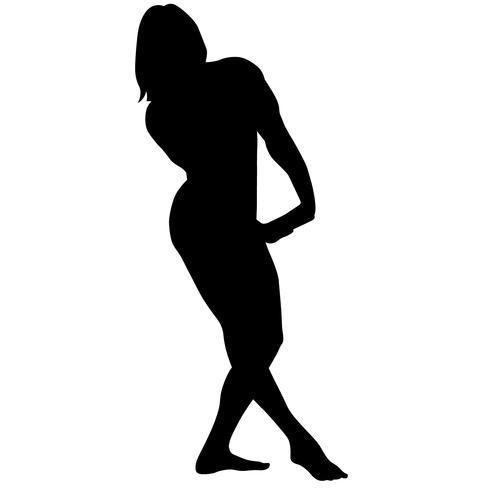 silhouette de musculation