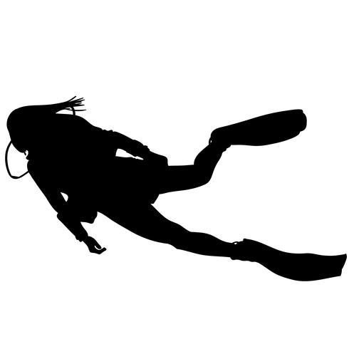 vetor de mergulho eps