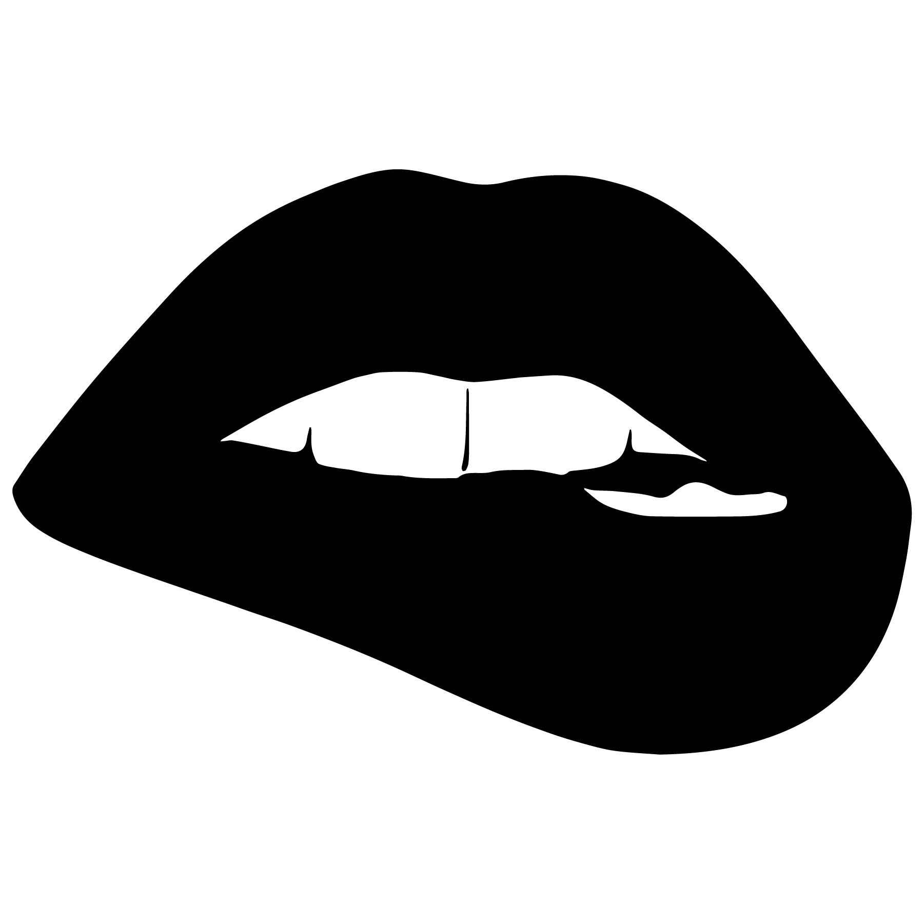 Lip Biting Vector - Download Free Vectors, Clipart Graphics  Vector Art-7192