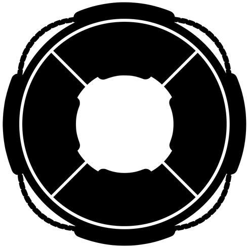 zwem ring vlotter vector eps