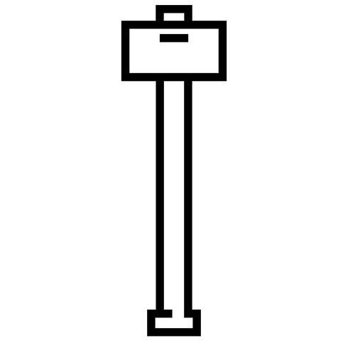 martillo vector eps