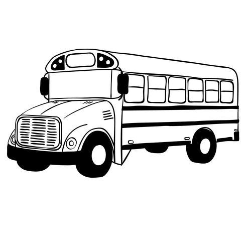 skolbussvektor eps