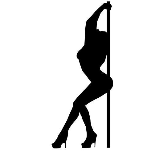 pole dance vector eps