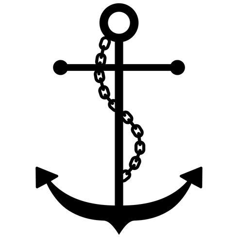anchor nautical vector