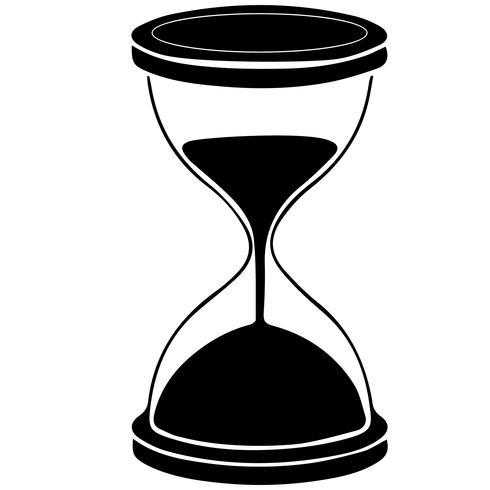 hourglass vector eps