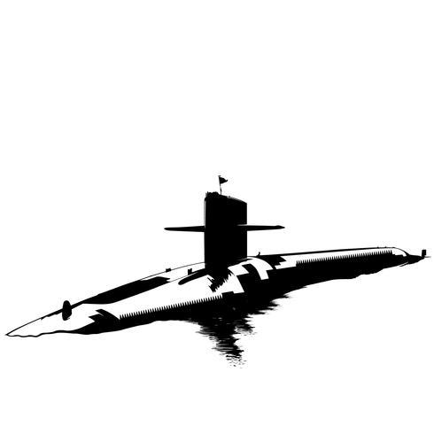 onderzeeër vector eps