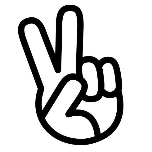 fred underteckna vektor