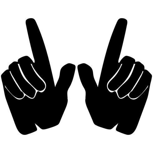 quel que soit le vecteur de signe de la main