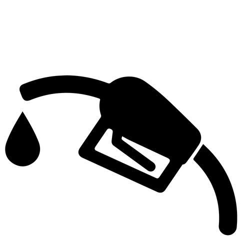 vetor de gasolina gás eps