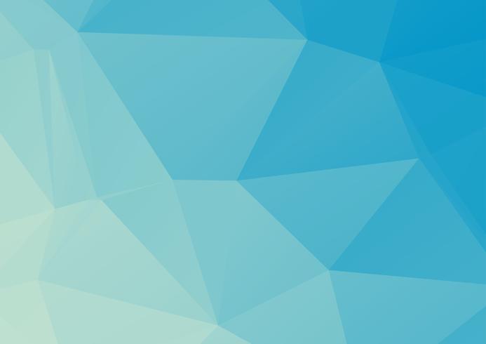 Blaulicht-polygonaler Mosaik-Hintergrund, Vektorillustration, Geschäfts-Design-Schablonen