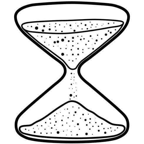 timglas vektor eps