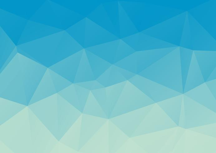Blauw licht veelhoekige mozaïek achtergrond, vectorillustratie, zakelijke ontwerpsjablonen