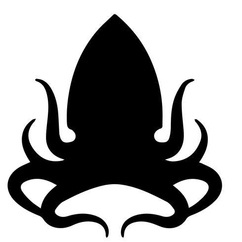 kraken bläckfisk vektor