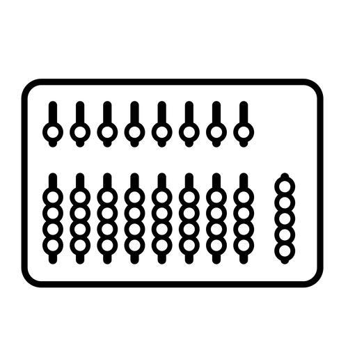 ábaco vector eps