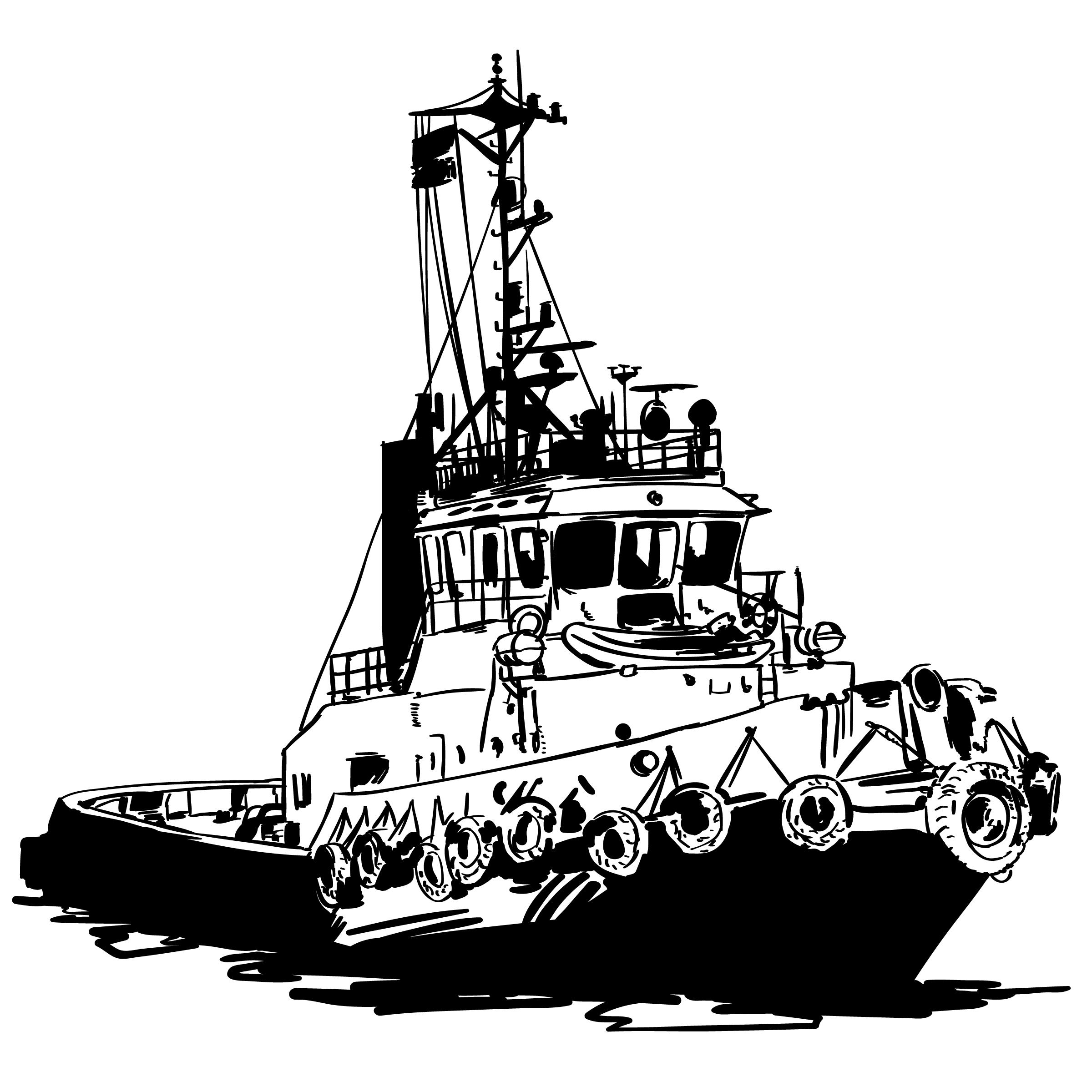 Tugboat Download Free Vectors Clipart Graphics Amp Vector Art