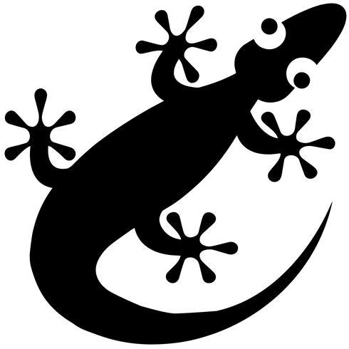 Gecko-Vektor-eps