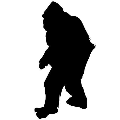 Bigfoot Vektor Eps