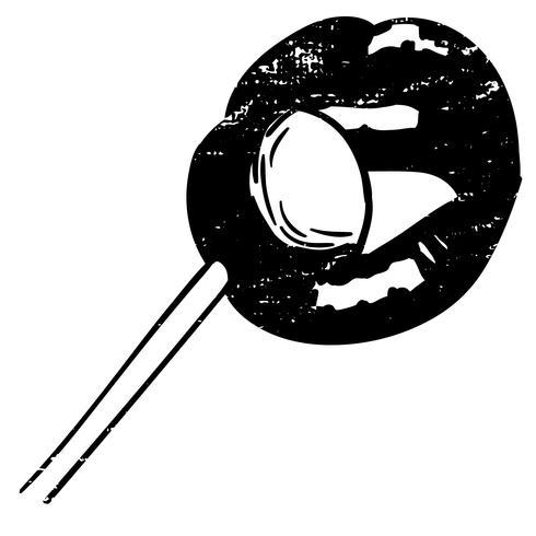 lollipopslickvektor