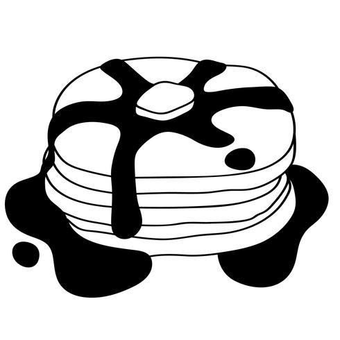 Pfannkuchen Vektor Eps
