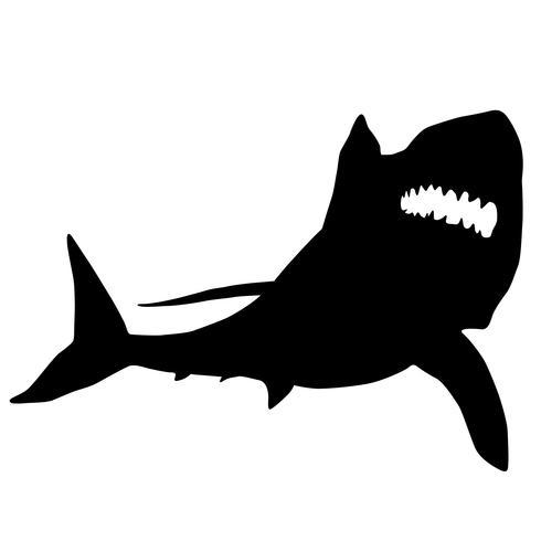 tiburones vector eps