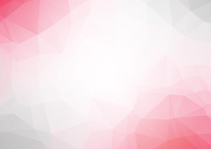 Rosa abstrato geométrico amarrotado triangular baixo poli estilo vetor ilustração gráfica