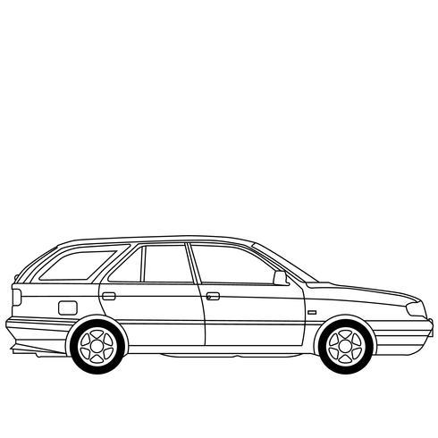 eps vecteur station wagon