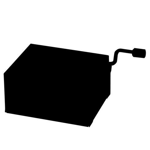 Muisc Box Vektor Eps