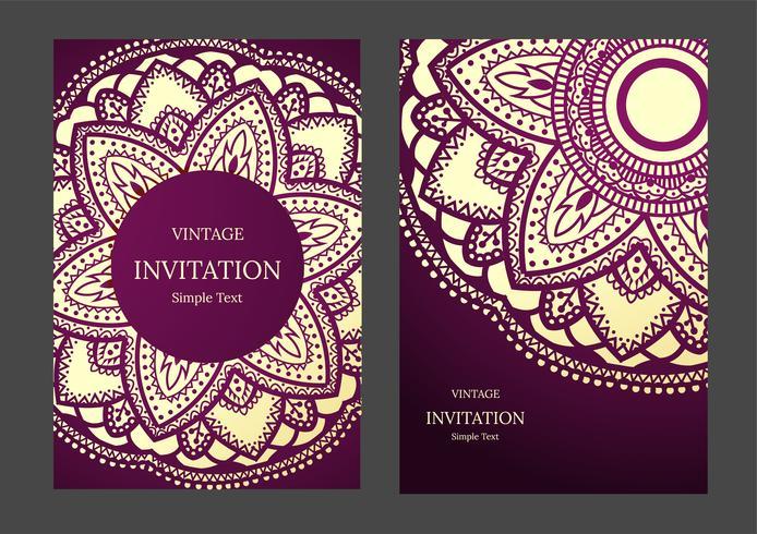 Hochzeitseinladung oder -karte mit abstraktem Hintergrund. Islam, Arabisch, Indisch, Dubai.