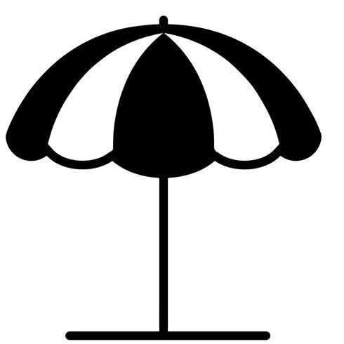 Sonnenschirm Vektor