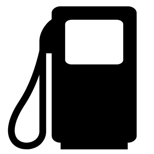 benzine gas vector eps