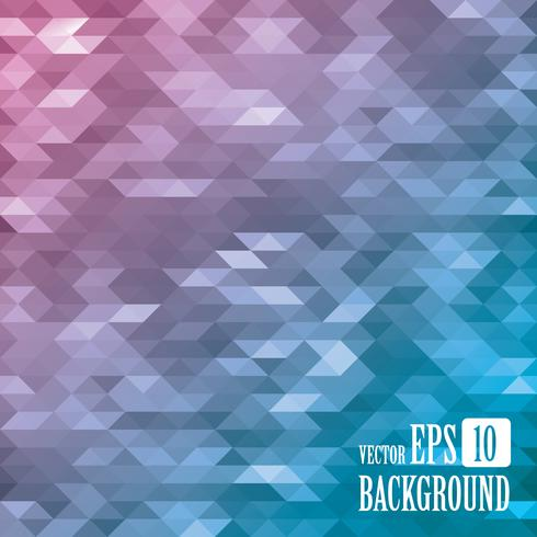 Abstract geometric background consisting of triangles. vector