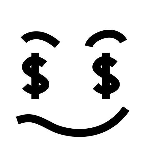 vector de ojos de dolar