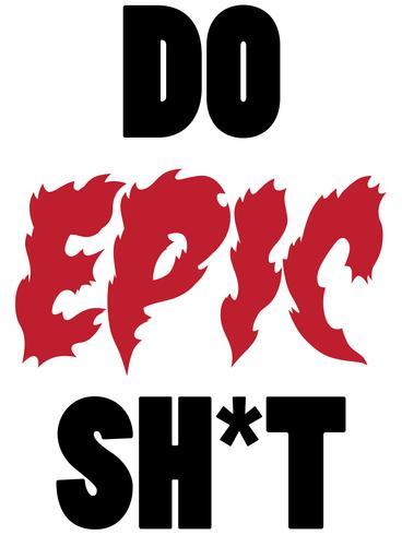 doe epische shit vector eps
