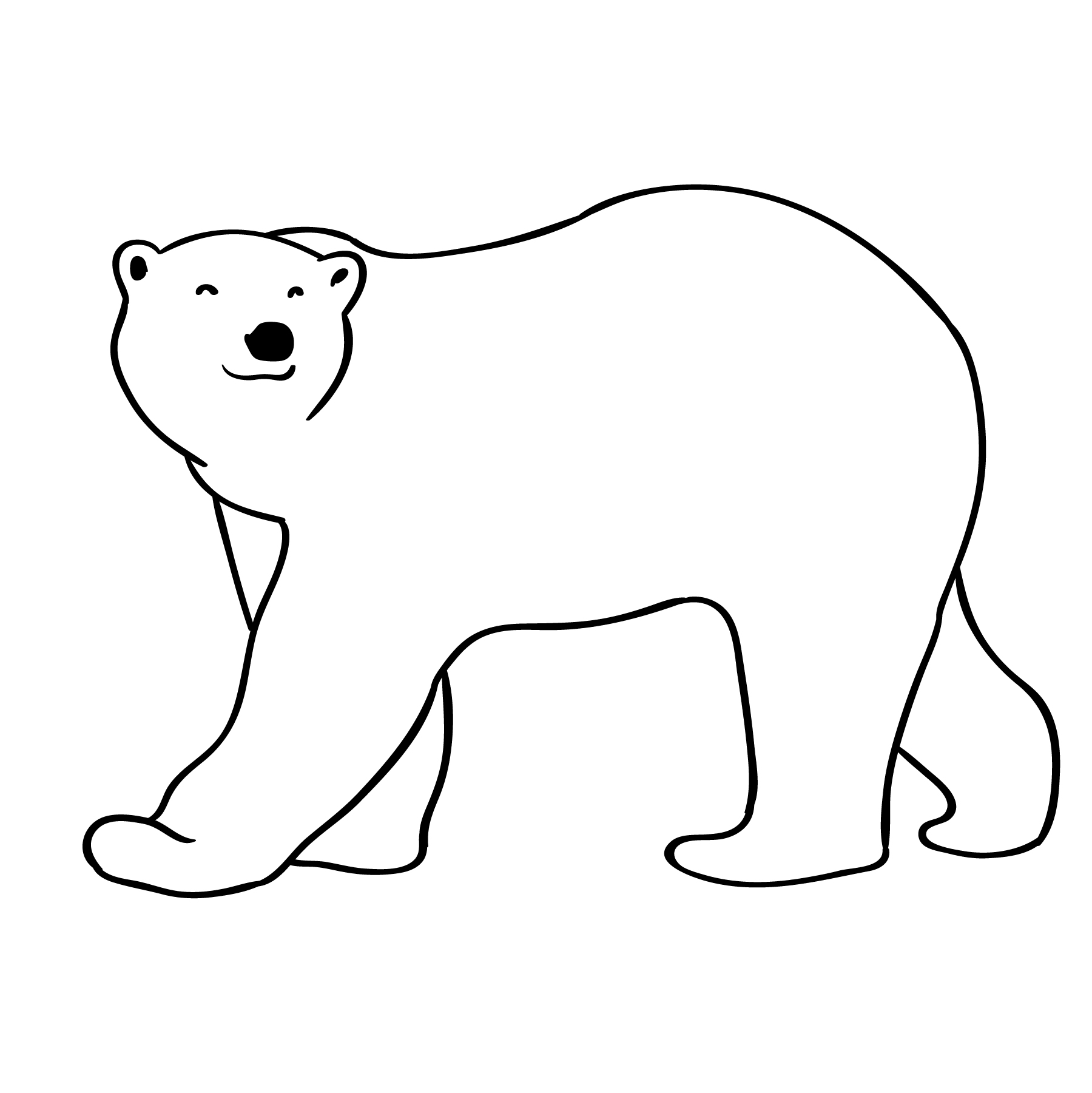 polar bear download free vector art stock graphics images. Black Bedroom Furniture Sets. Home Design Ideas