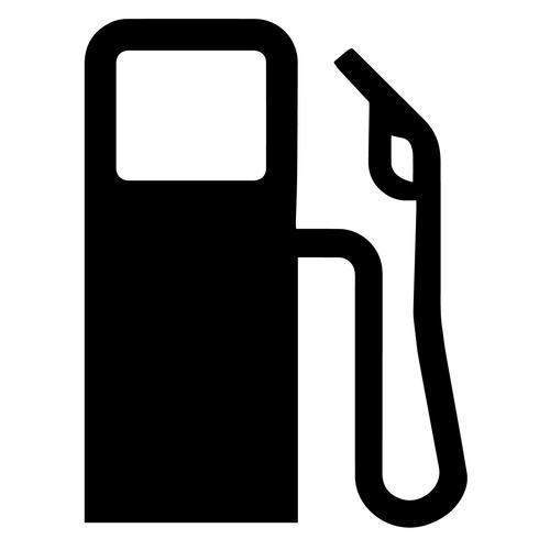 vettore di gas benzina eps
