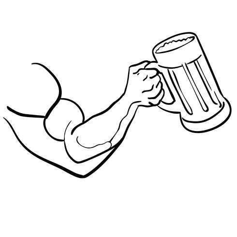 Bier Vektor Eps