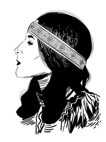 donna nativa americana