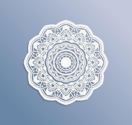 Carte o inviti con mandala pattern.Vector vintage disegnati a mano elementi altamente dettagliati mandala. Carta pizzo ornamento di lusso di lusso. Islam, arabo, indiano, turco, ottomano, motivi del Pakistan.